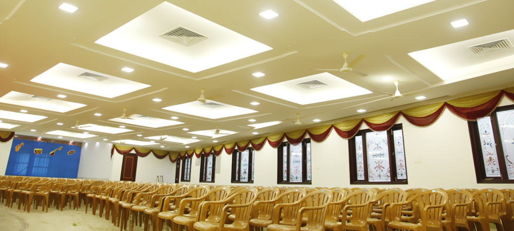 ac reception halls in mogappair
